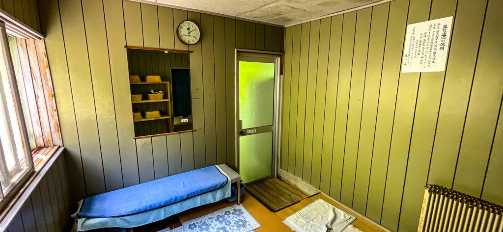 幌加温泉 鹿の谷 脱衣室