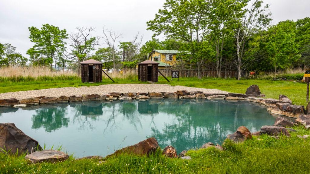 池の湯温泉 露天風呂 浴槽