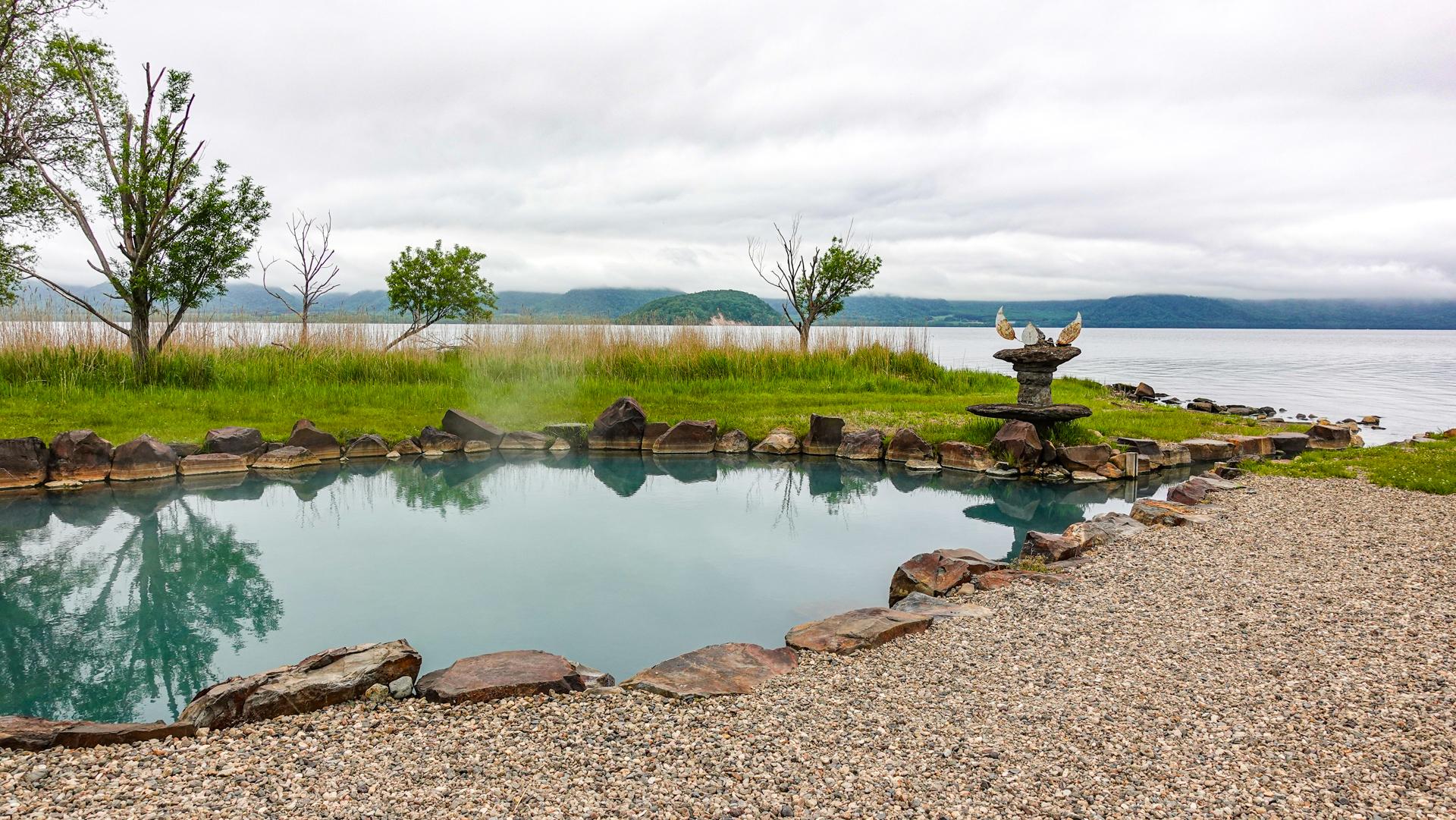 池の湯温泉露天風呂