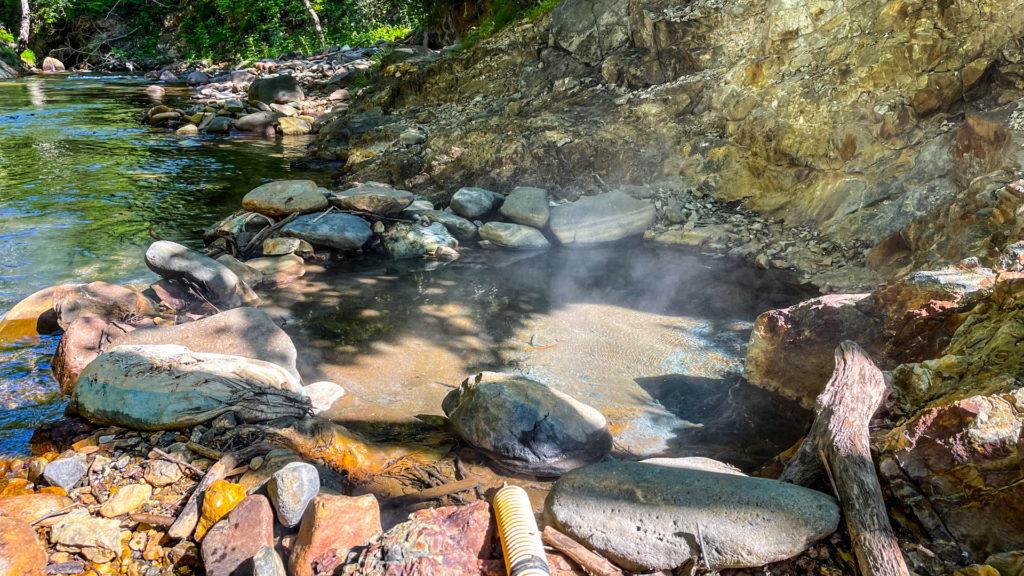 然別峡温泉 チニカ (ペニチカ) の湯 浴槽