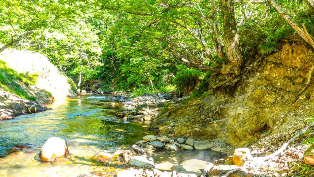 然別峡温泉 チニカ (ペニチカ) の湯と崖下の湯