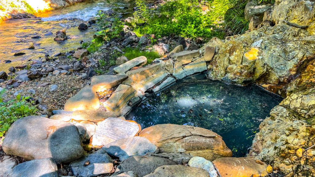 然別峡温泉 メノコの湯 温泉水