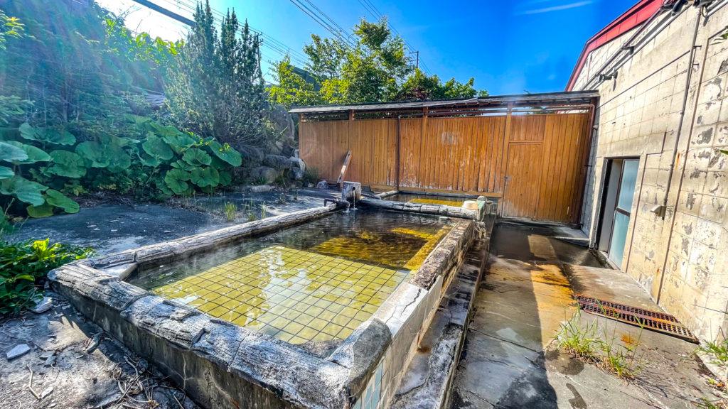 野付温泉 浜の湯 露天風呂